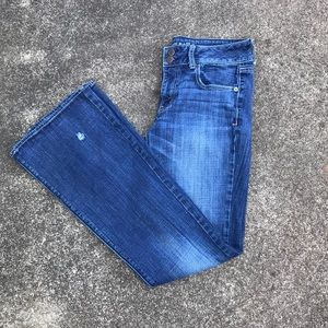 American Eagle artist stretch 8 long jeans